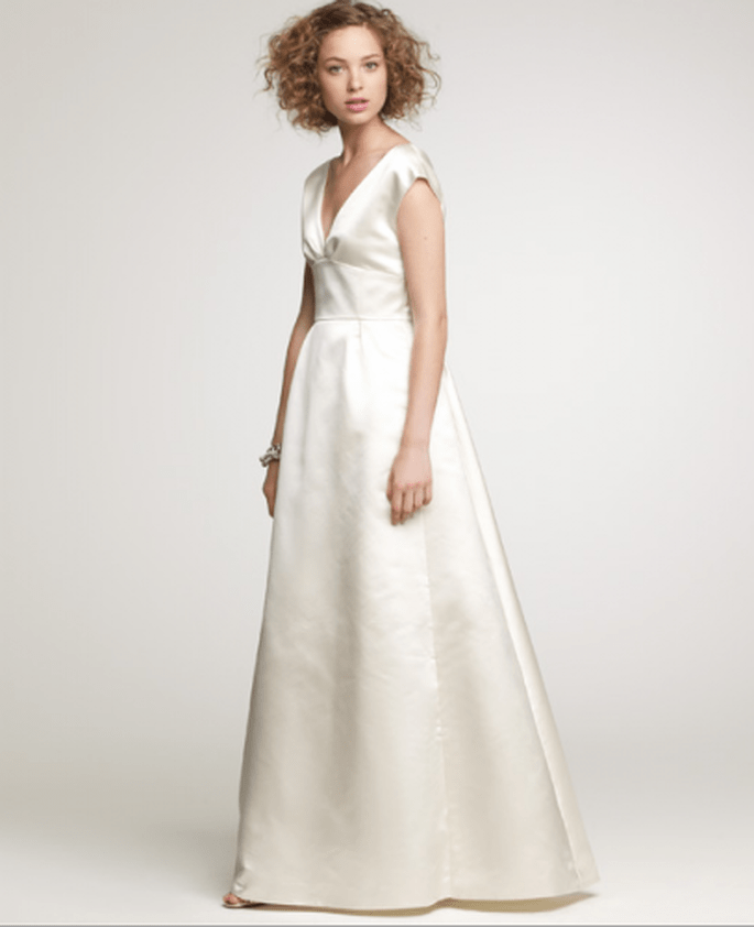 Duchess Satin Margeaux Gown