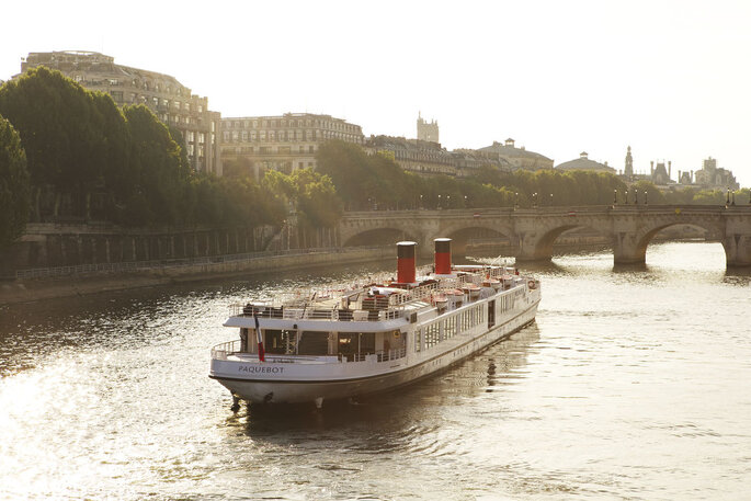 Yachts de Paris - Lieu de réception mariage - Paris