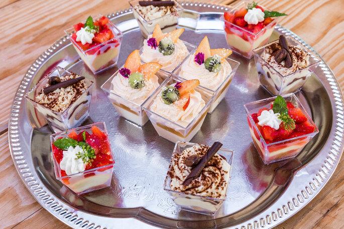 Mignardises en guise de desserts pour un mariage en Corse