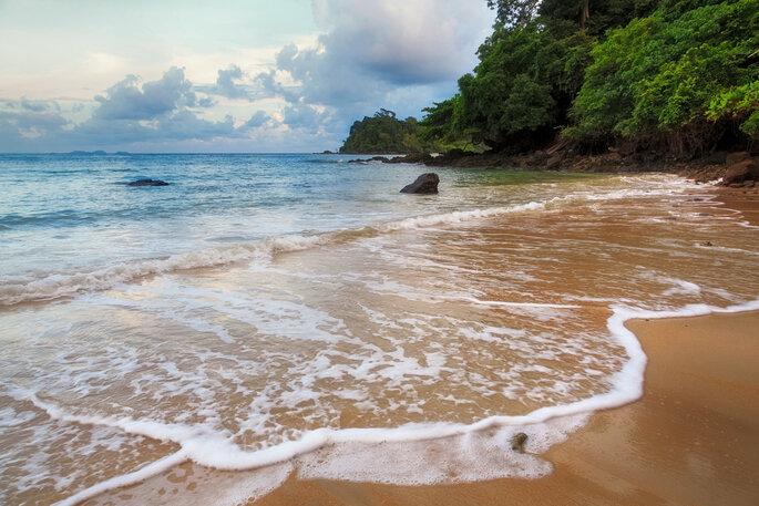 Playa de Langkawi.