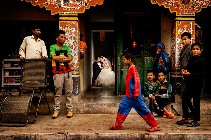 Christine and Chiaming's wedding at Uma by COMO in Paro, Bhutan.