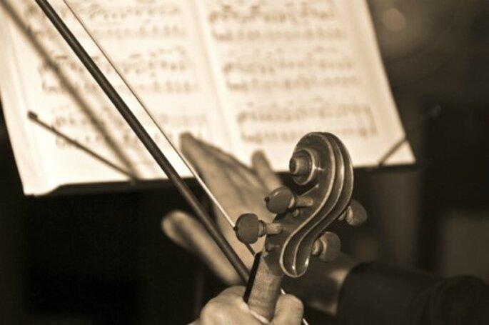 Quelle musique choisir pour sa cérémonie laïque de mariage ? Photo : Click & Wed