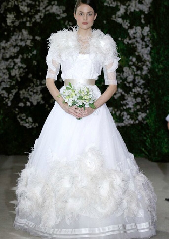 Robe de mariée Carolina Herrera 2012. Photo: Carolina Herrera