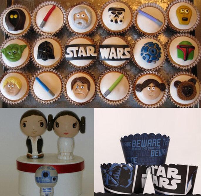 Boda Star Wars - Postres (www.etsy.com)
