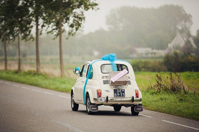 Un carro pequeño con moño gigante nunca pasará desapercibido