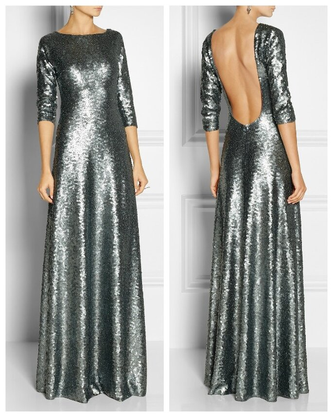 Marc Jacobs sequinned maxi dress. Image: net-a-porter