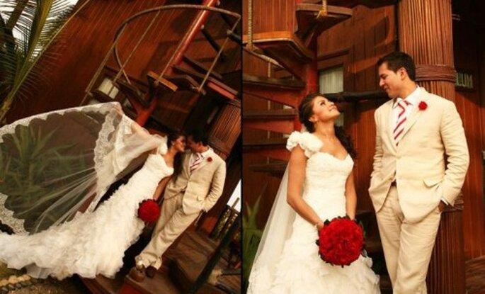 Decoraciones para boda. Foto de Aleman Estudio.