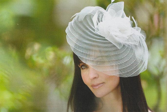 Cappello da sposa in toulle