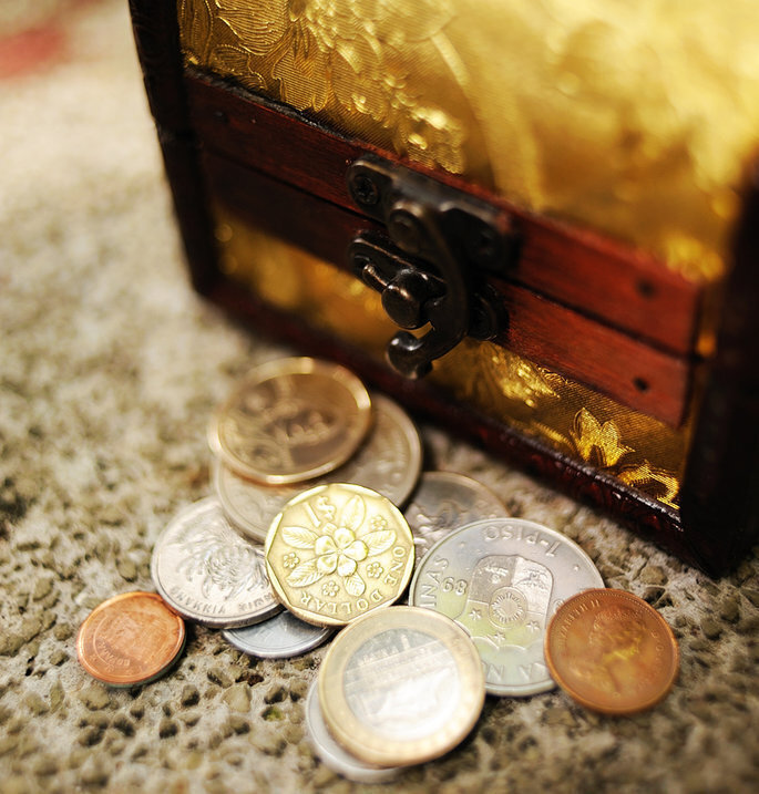 Arras de matrimonio, arras de boda de oro y plata, unity coins