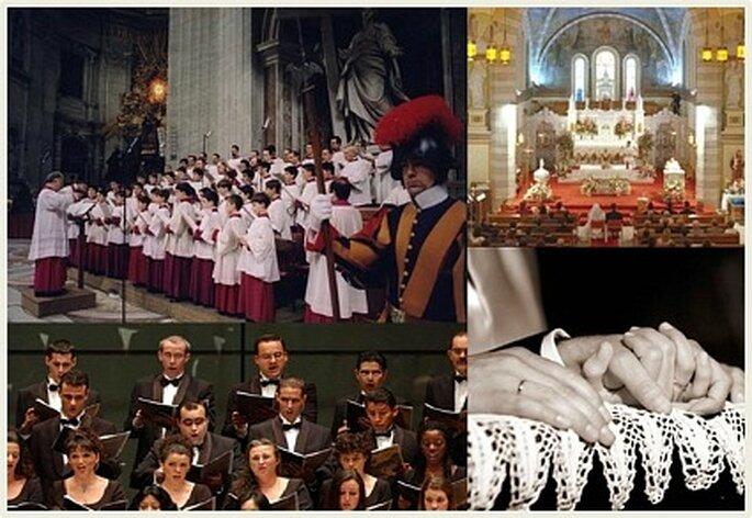 Coros para la iglesia la harán romántica y emotiva