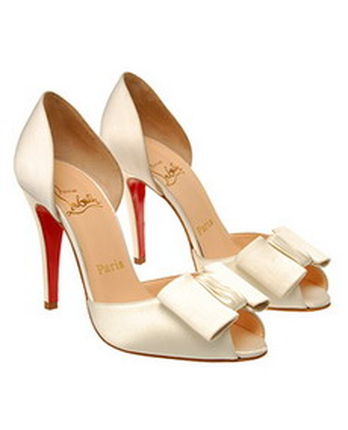 Será que a Pipoca mais doce vai levar estes Louboutin no dia do seu casamento ?