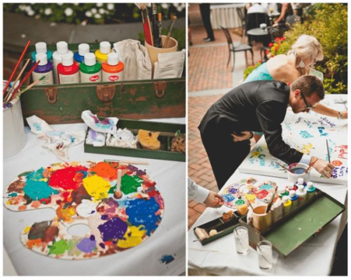 Éveiller la créativité de tous vos invités - Photo: Sweet Little Photographs