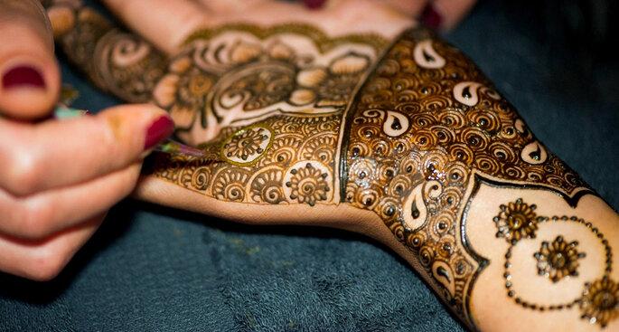 Photo Credit: Bridal Mehndi Designer.