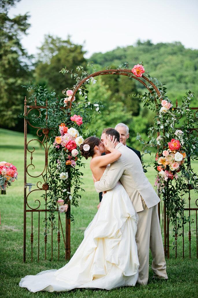 Los altares de boda más lindos para la ceremonia religiosa - Kristyn Hogan