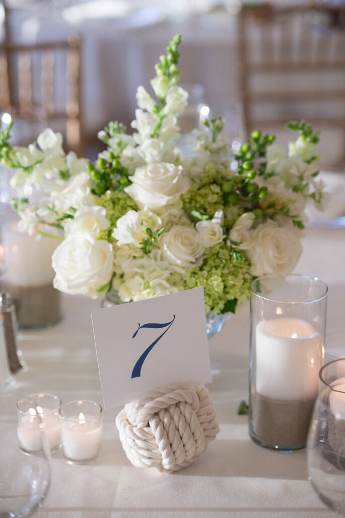 Detalles para una boda náutica - Ned Jackson Photography