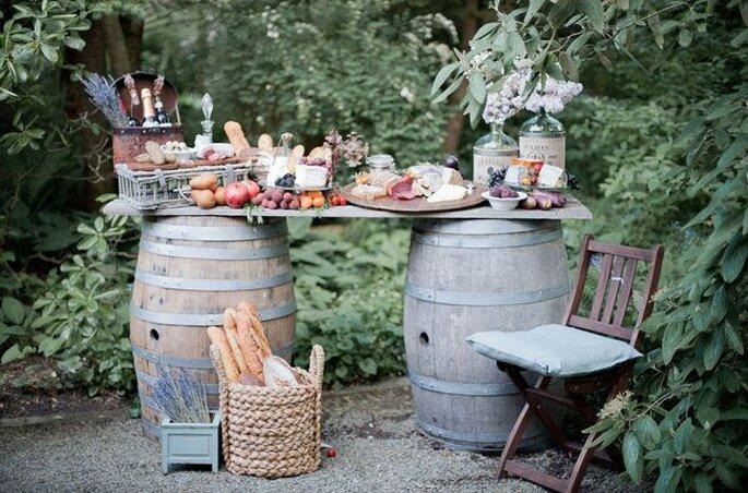 French buffet