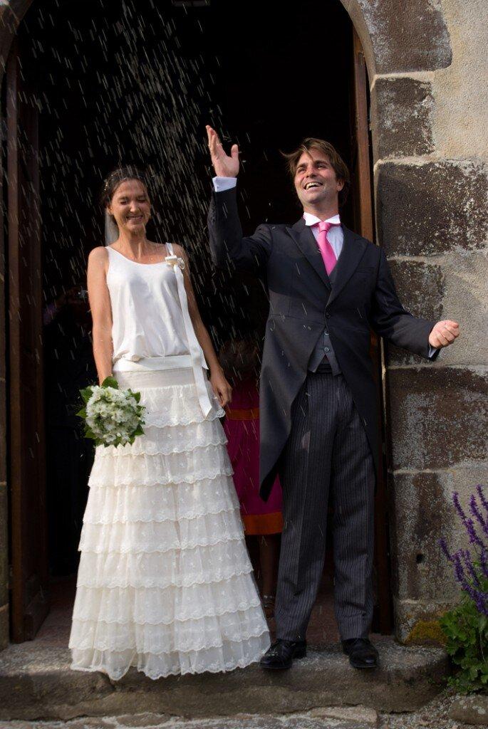 Pierre-Eloi & Alphée casaram em Setembro de 20100