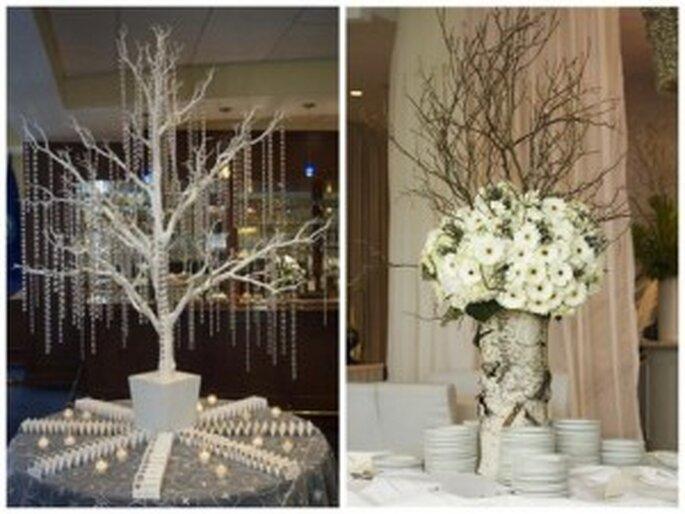 Matrimonio Tema Invernal : Flores para tu boda ramos de novia y decoración