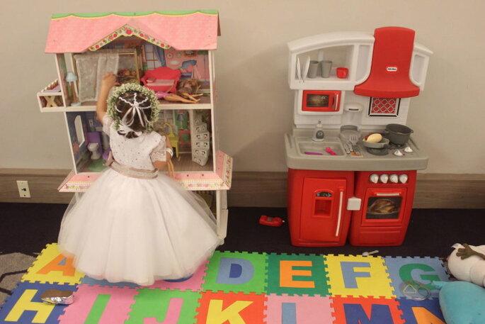 recreação infantil para casamento
