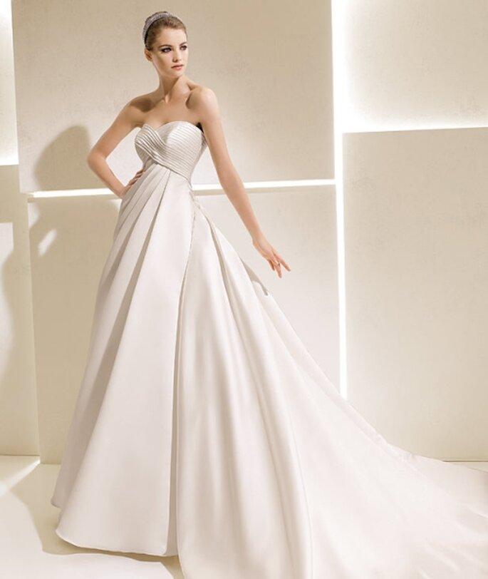 9b4218bbe9 Diseños de ensueño en vestidos de novia 2012 para la colección La Sposa