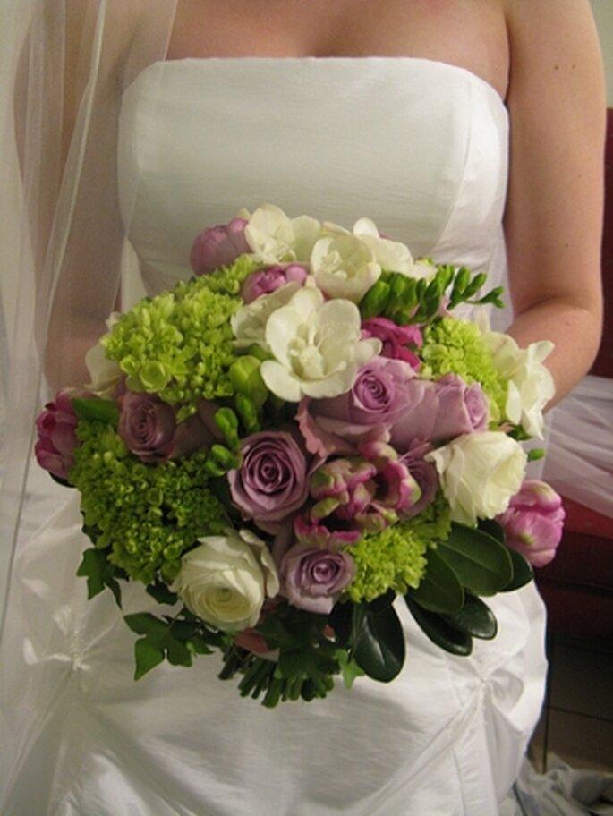 El ramo bouquet es un clásico de las bodas