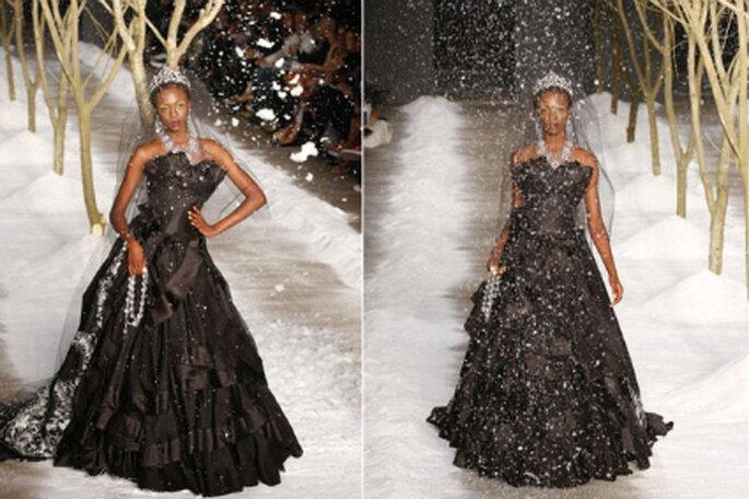 Vestido de noiva preto - Samuel Cirnansck