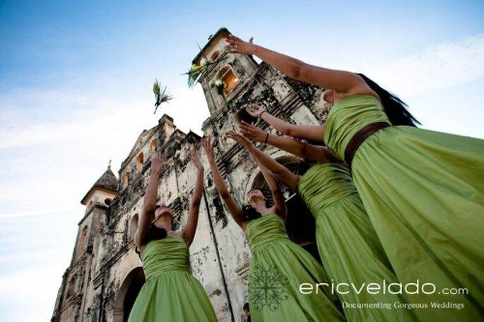Grüne Brautjungfernkleider - Foto: Eric Velado