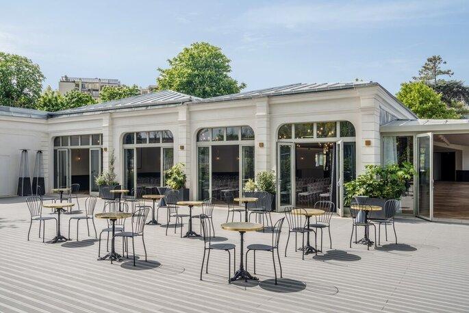 Le Pavillon des Princes - Lieu de réception pour votre mariage - Paris