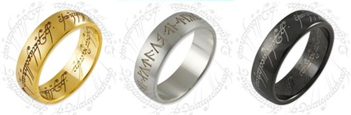 """Das Modell aus """"Der Herr der Ringe"""" ist in vielen Varianten erhältlich"""