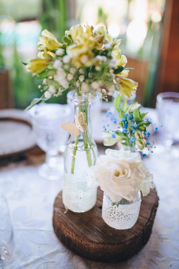 fotografia casamento centro de mesa PR