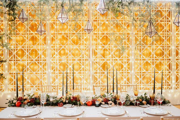 Decoração por CRACHÁ - Wedding Agency