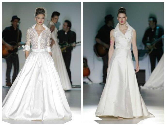 Suknie ślubne z kołnierzem. Kolekcja