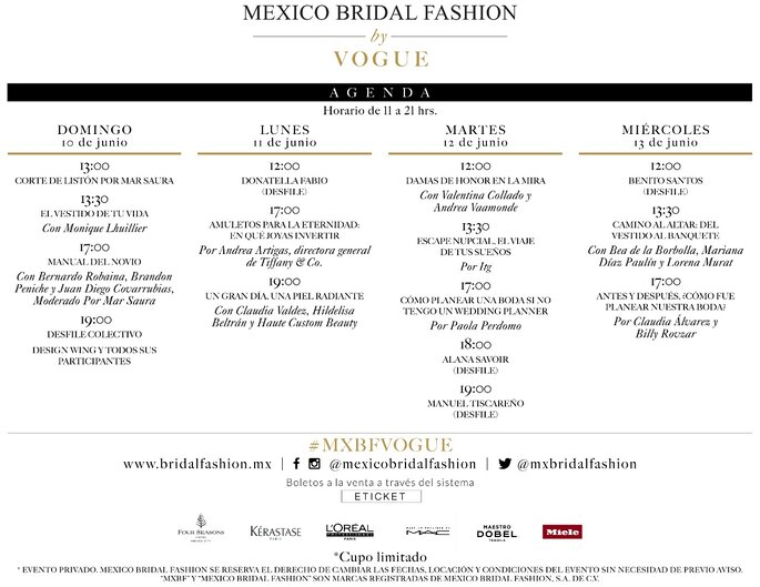 México Bridal Fashion by Vogue