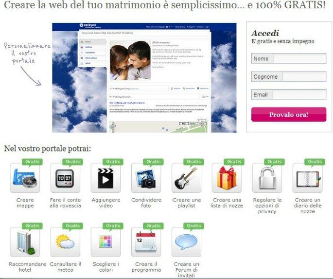 Crea la tua playlist del cuore sul sito web del matrimonio. Con Zankyou è gratis!