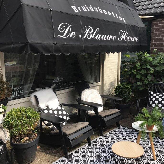 Foto: Bruidsboetiek De Blauwe Hoeve