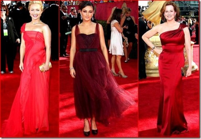 Hayden Panettiere (J. Mendel) – Mila Kunis (Monique Lhuiller) – Sigourney Weaver (David Meister) Fotos. Emmys