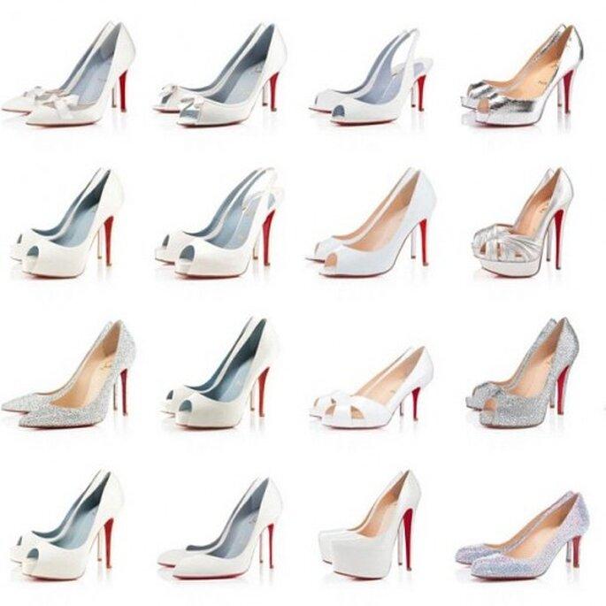 Zapatos de novia ideales para ti - Foto Christian Louboutin