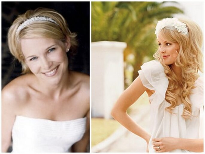 Photos via Bridal Hairstyles