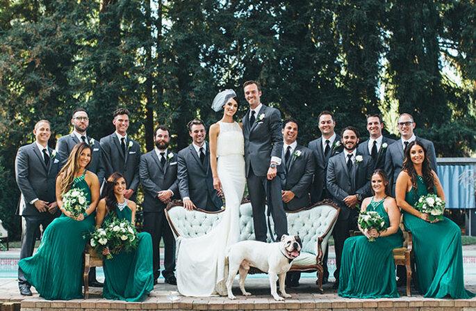 Fotografia de Paige Jones via Green Wedding Shoes