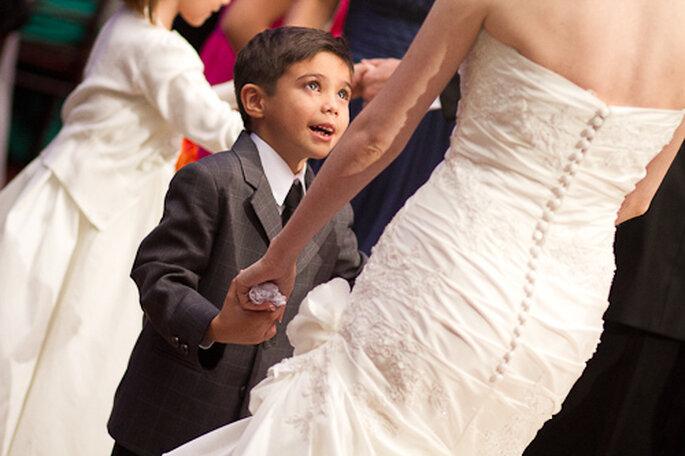 Un cortejo infantil para tu boda. Fotos de Pepe Orellana