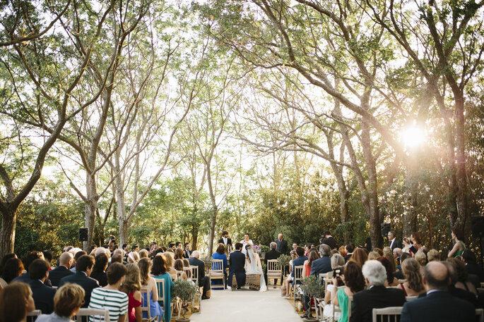 ceremonia boda aire libre