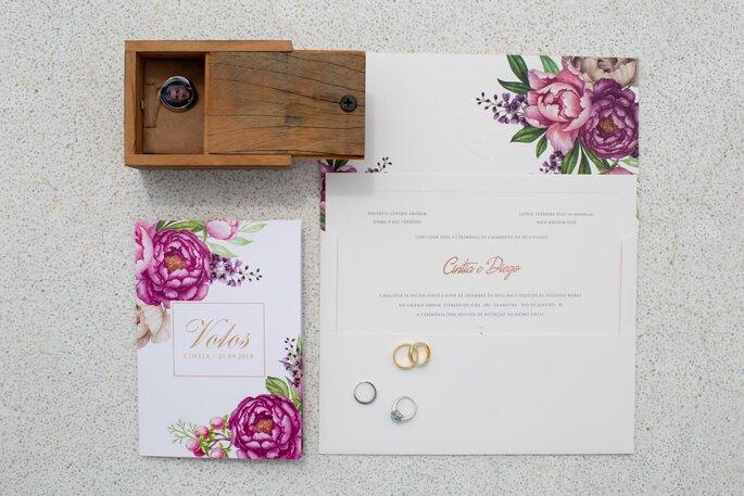 Identidade visual para o casamento