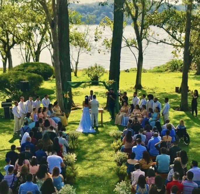 casar ao ar livre perto de São Paulo