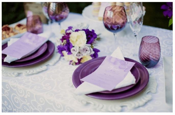 Décoration de mariage en orchidée radiante - Kristin LaVoie Photography
