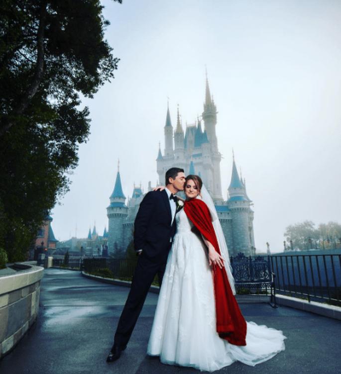 Photo : @Disneyweddings instagram