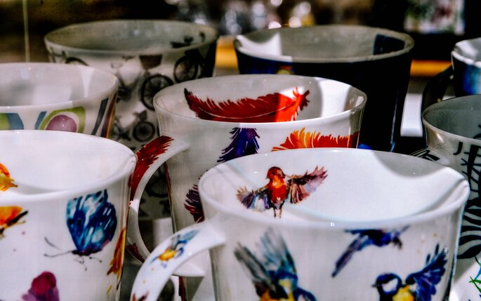 Regalos de porcelana para 20 aniversario de bodas