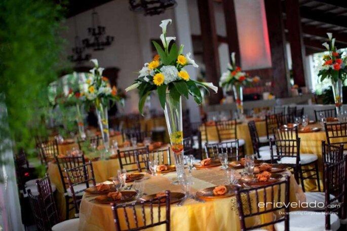 Decoración de tu boda en color café Eric Velado