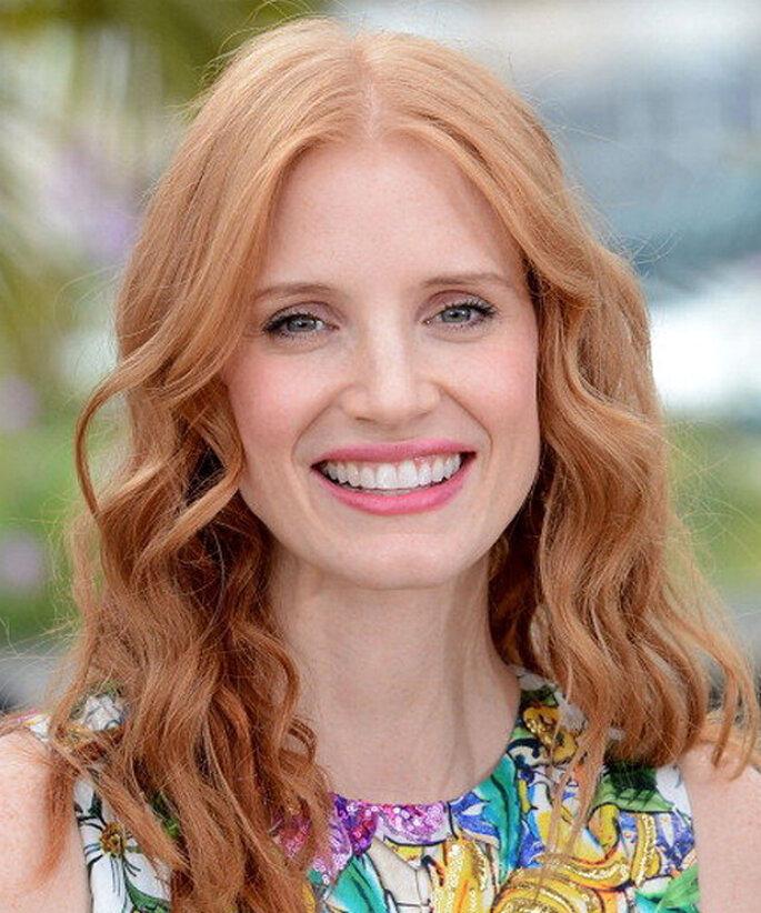 Las ondas son el peinado ideal para un rostro triangular - Foto Cannes Oficial