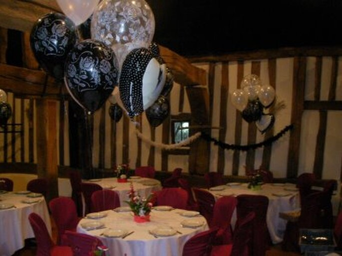 Black Wedding Balloons