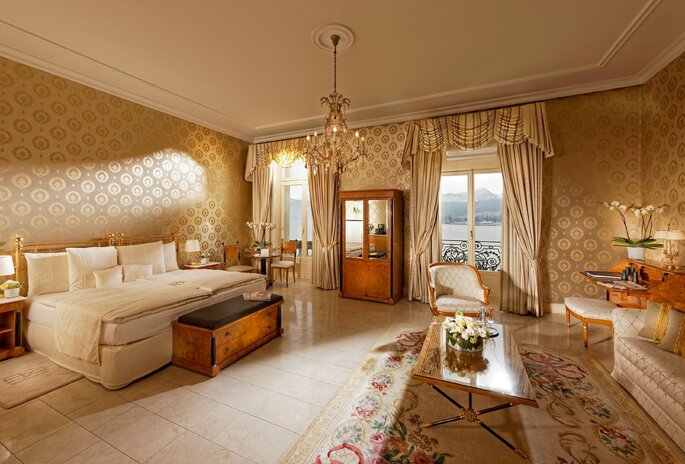 Grand Hotel National Luzern Zimmer